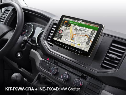 Built-in-iGo-Primo-Navigation-Map-in-Volkswagen-Crafter_INE-F904D_with_KIT-F9VW-CRA