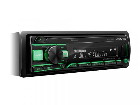 DIGITAL-MEDIA-RECEIVER-WITH-BLUETOOTH_UTE-201BT_Angle_Green-white