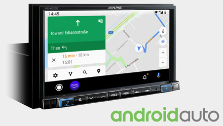 Online Navigation with Android Auto - INE-W720D