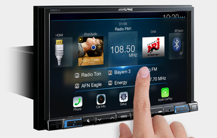 High Resolution WVGA Touch Screen  - X802DC-U