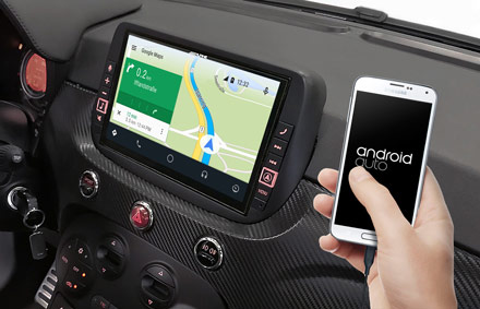 Online Navigation with Android Auto - X903DC-F