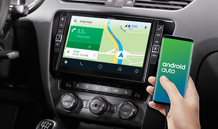 Online Navigation with Android Auto - X903D-OC3