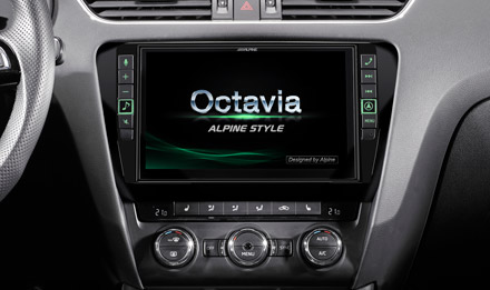 Skoda Octavia Start-up Screen  - i902D-OC3
